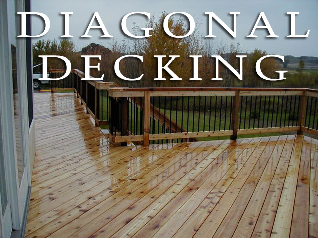 diagonal decking
