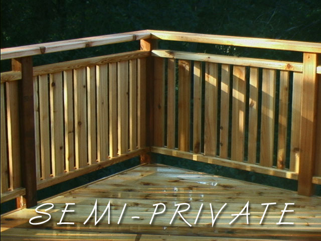 semi-private railing